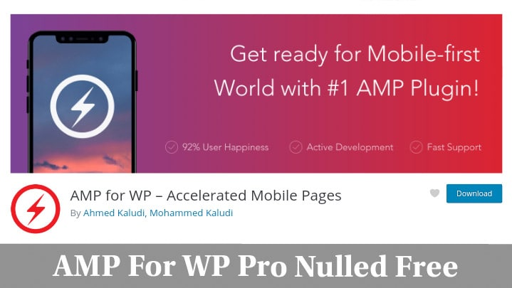 AMP For WP Pro Nulled Free