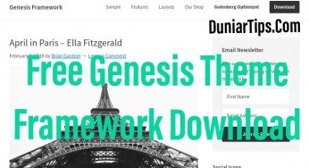 free genesis theme framework download
