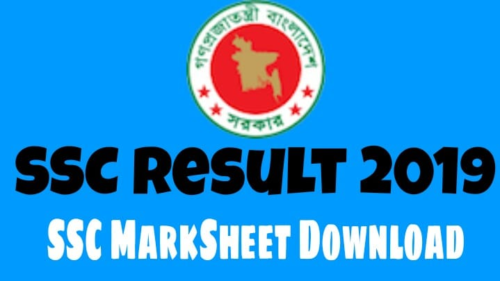 SSC result 2019 mark sheet download