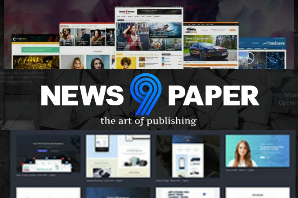 Newspaper theme wordpress free