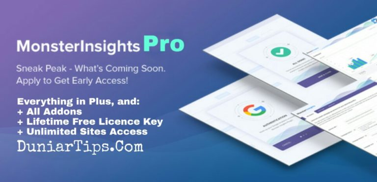 Monsterinsights Pro Nulled Addons Licence Key